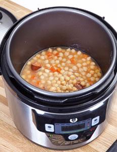 Olla gm e 6 l con voz cabezal de horno gm sistema for Cocinar con olla gm